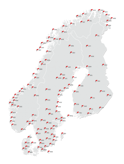 NordicAirports with airport codes.png
